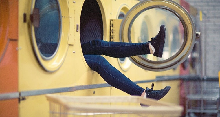 how to get socks out of top loading washing machine