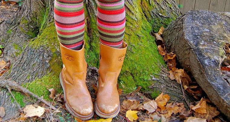 what socks to wear with booties