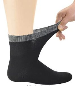 Bamboo Diabetic Ankle Socks