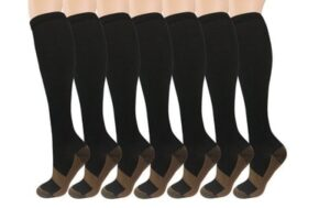 Compression Socks Infused With Copper