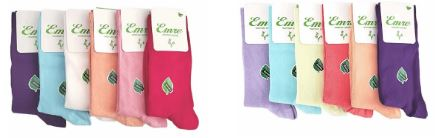 Emre Luxury Seamless Bamboo Dress Socks