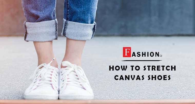 how to stretch canvas shoes